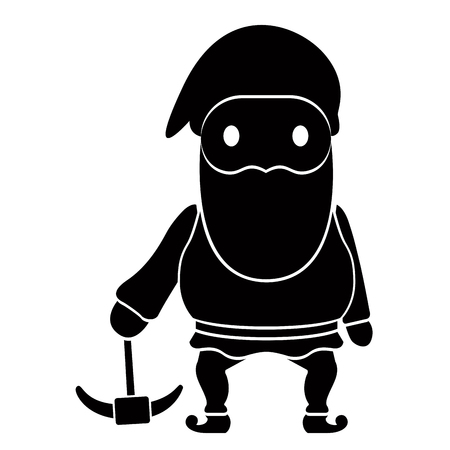 Isolated gnome icon