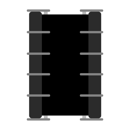 Isolated drum icon. Musical instrument 向量圖像