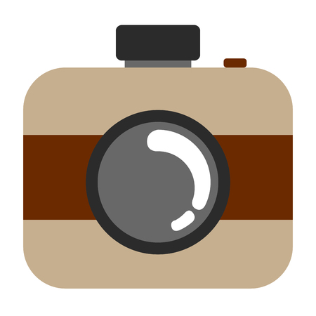 Isolated camera icon