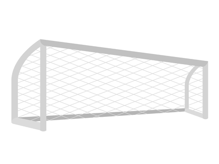Isolated soccer net icon