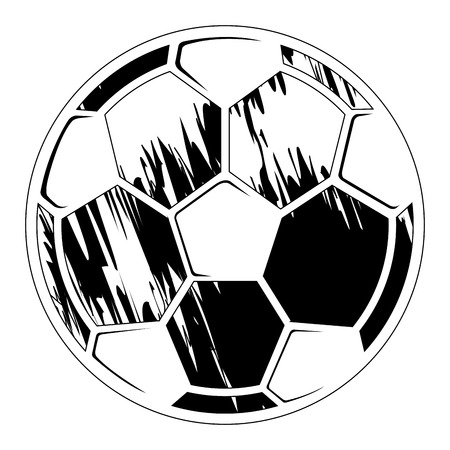 Soccer ball with a texture
