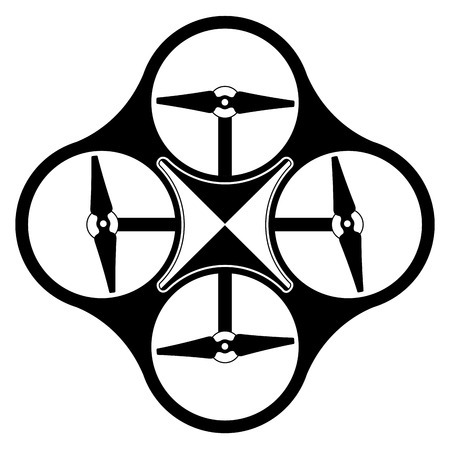 Isolated drone toy