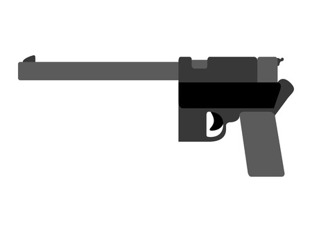 Isolated firearm icon