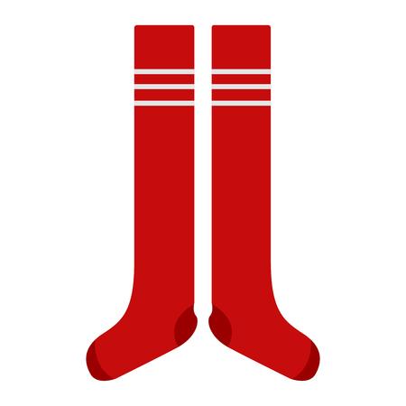 Soccer socks icon