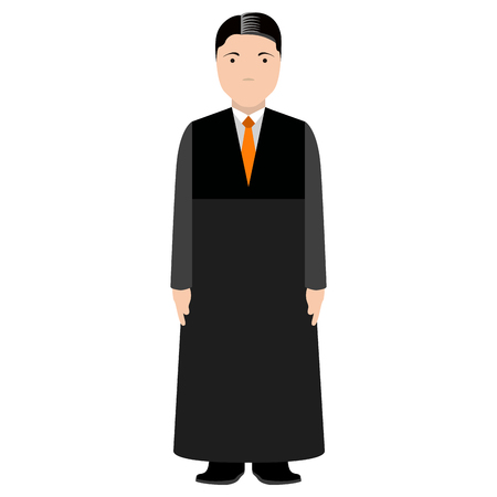 Isolated magistrate avatar