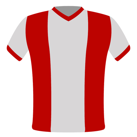 Flag t-shirt of Peru Vettoriali
