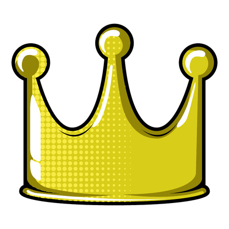 Isolated crown icon
