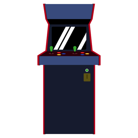 Isolated arcade machine icon. Vector illustration design