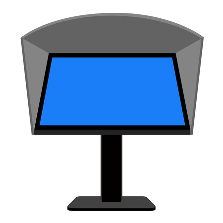 Isolated soccer var icon