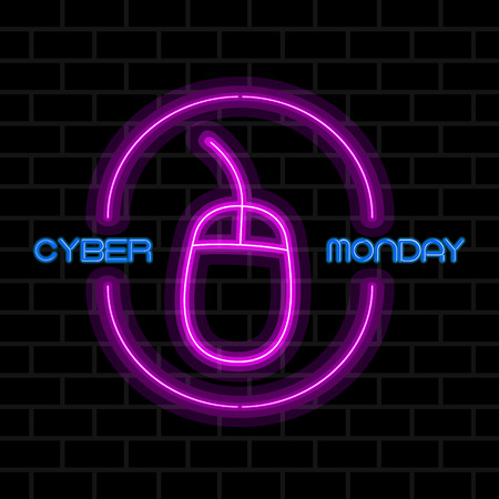 Cyber monday sale image. Vector illustration design Illustration