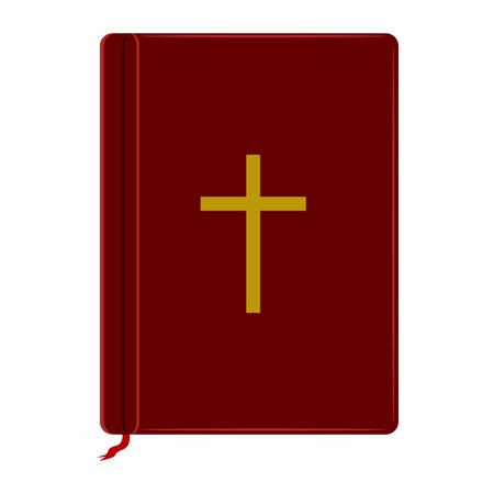 Isolated holy bible Ilustração