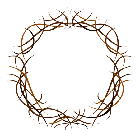 Isoalted crown of thorns