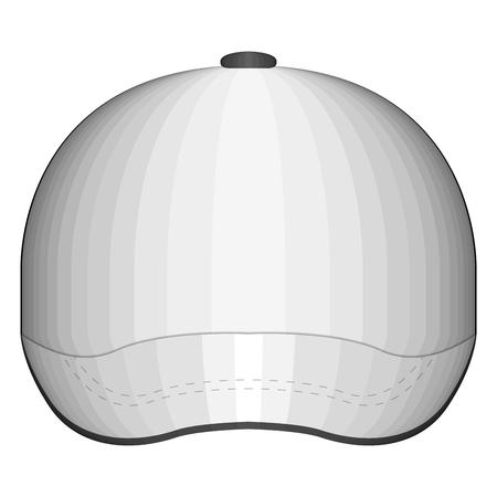 Isolated tennis cap image. Vector illustration design Stock Illustratie