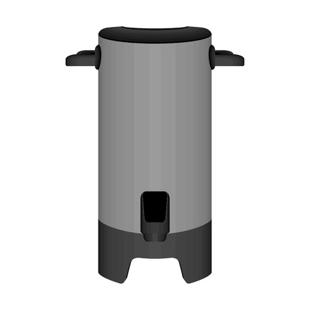 Isolated big coffee thermos vacuum image