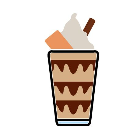 Isolated frappe icon