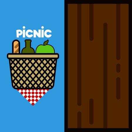 Picnic invitational poster