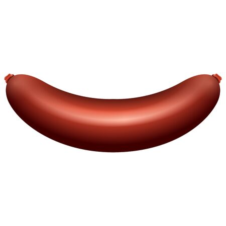 Isolated sausage image