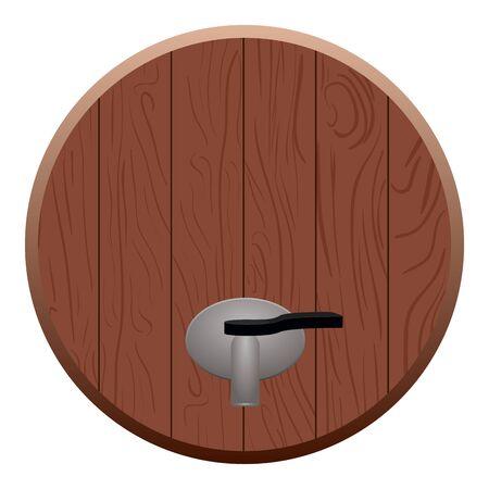 Beer barrel cap