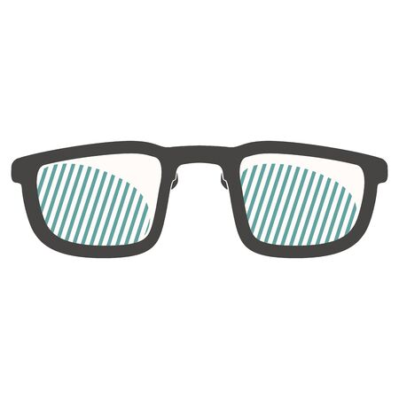 Isolated glasses image