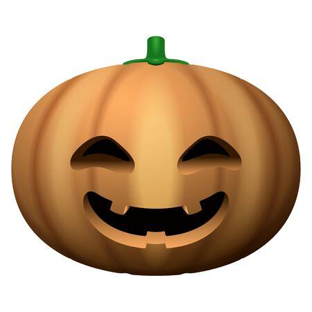 Spooky pumpkin image Ilustração