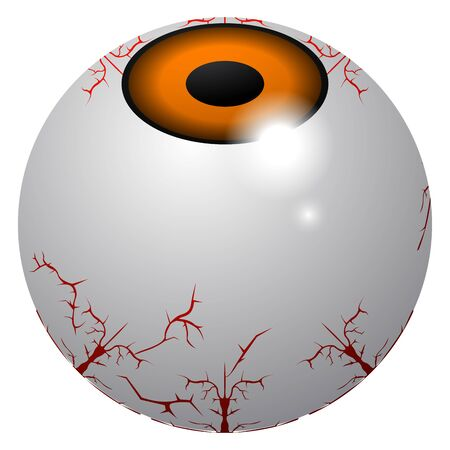 Sppoky zombie eye