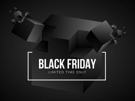 Luxury black friday poster 写真素材 - 136116331