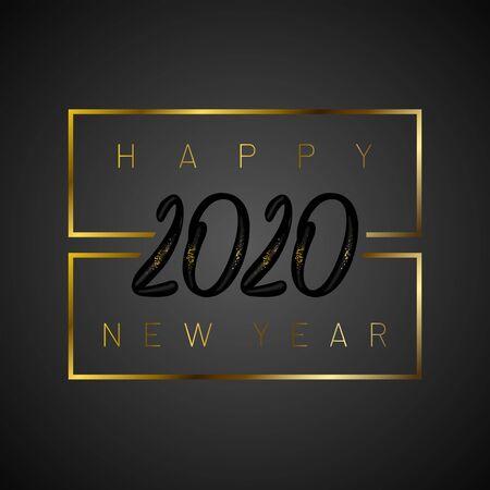 Happy new year 2020 写真素材 - 136116407