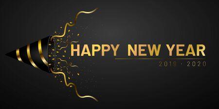 Happy new year 2020 写真素材 - 136116425