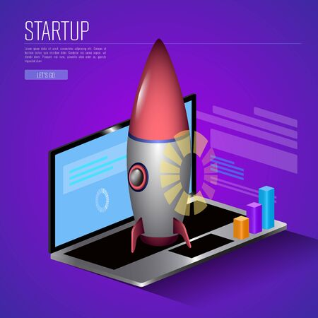 Business startup illustration