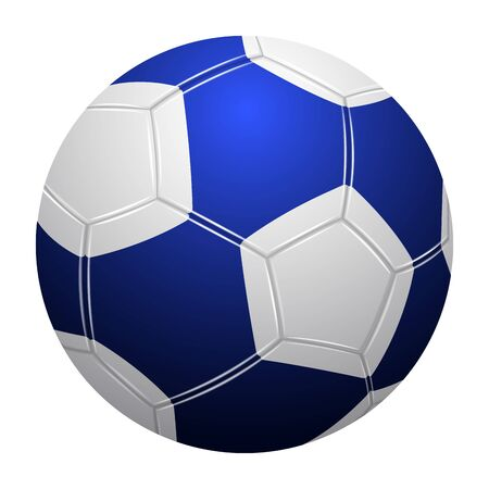 Isolated realistic soccer ball  イラスト・ベクター素材