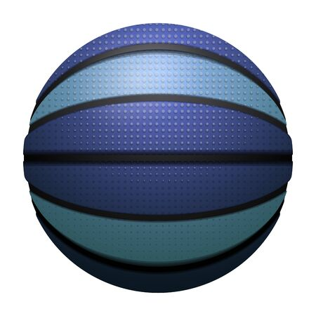 Isolated realistic basketball ball  イラスト・ベクター素材