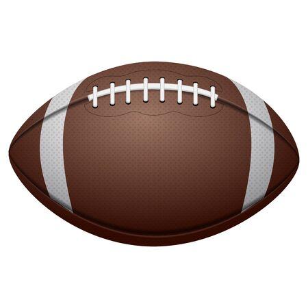 Isolated football ball  イラスト・ベクター素材