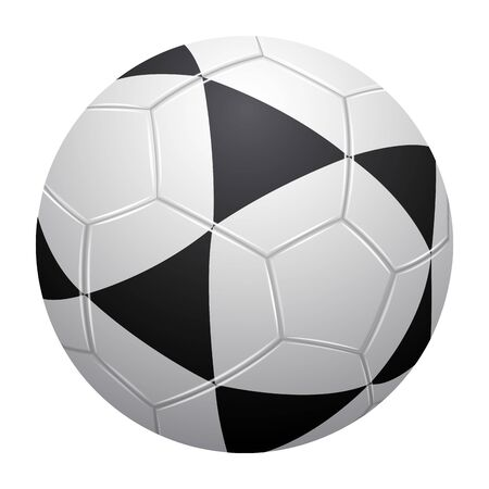 Isolated realistic soccer ball. Sport ball - Vector  イラスト・ベクター素材