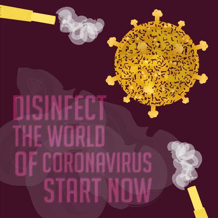 Coronavirus prevention poster