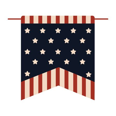 Flag pennant of United States