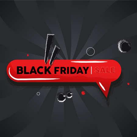 Black friday sale Ilustração
