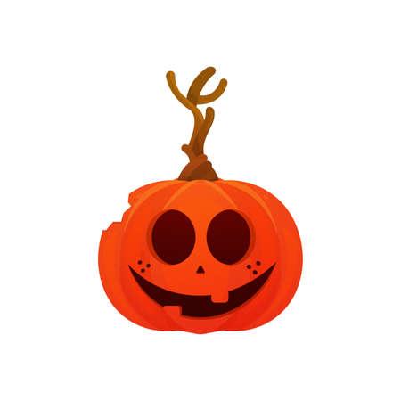 Scary halloween pumpkin Ilustração