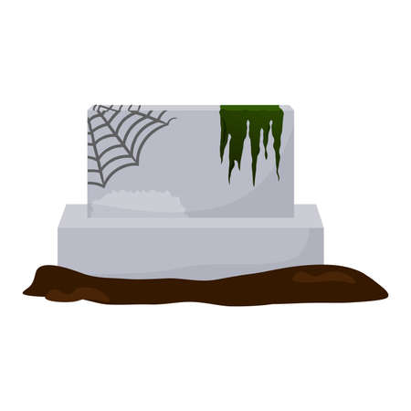 Isolated tombstone icon