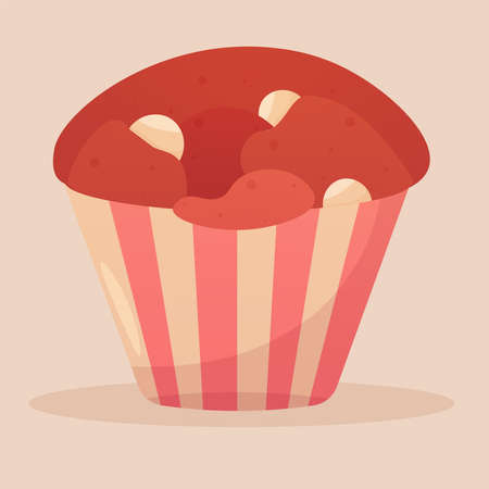 Isolated muffin icon