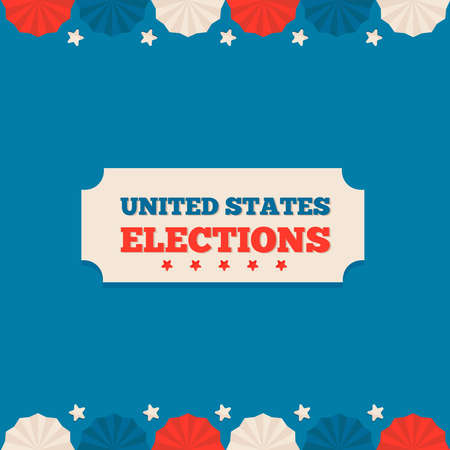 USA elections day design