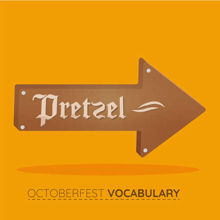 Pretzel brown vocabulary design