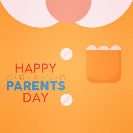 Blouse grandma day granparents day image icon- Vector 向量圖像