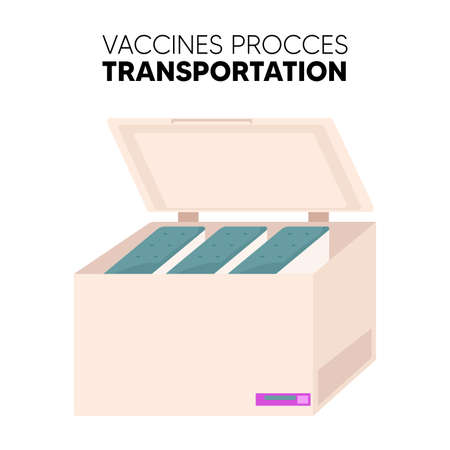 Isolated Post vaccine prevent transportation vaccines medicine health icon- Vector