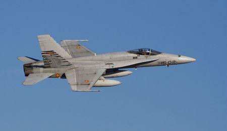 f18: Spanish F-18 Stock Photo
