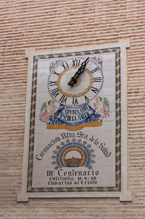 2019, January. Watch commemorating the third centenary of the Coronation of Our Lady of Health in the city of Xirivella on September 11, 1983. Editorial