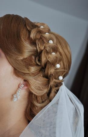 wedding hairstyle: wedding hairstyle