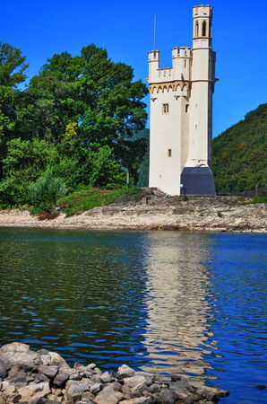 The Mouse Tower (Mauseturm) is a stone tower on a small island in the Rhine, outside Bingen am Rhein, Germany.