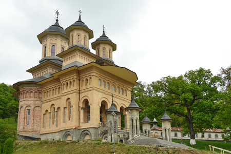 The Orthodox Monastery  The Dormition of the Virgin Mary Nicula , Romania,2017