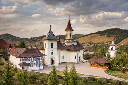 Romania, Humor Monastery,2017,view from tower Redactioneel