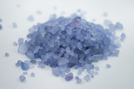 pile of Relaxing Bath Salts Stock Photo